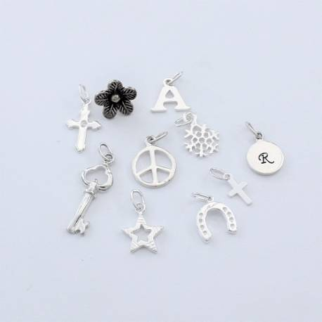 sterling silver good luck charms