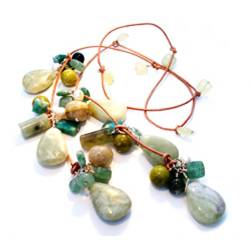 Shades of Green Lariat