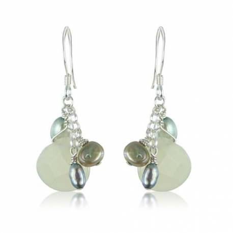 Jade Briolette Earrings